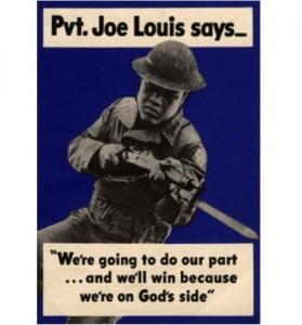 Joe Louis poster