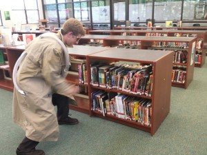 Doctor Octopus in the Library