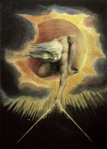 The Ancient of Days 19th C. William Blake (1757-1827/British) British Museum, London