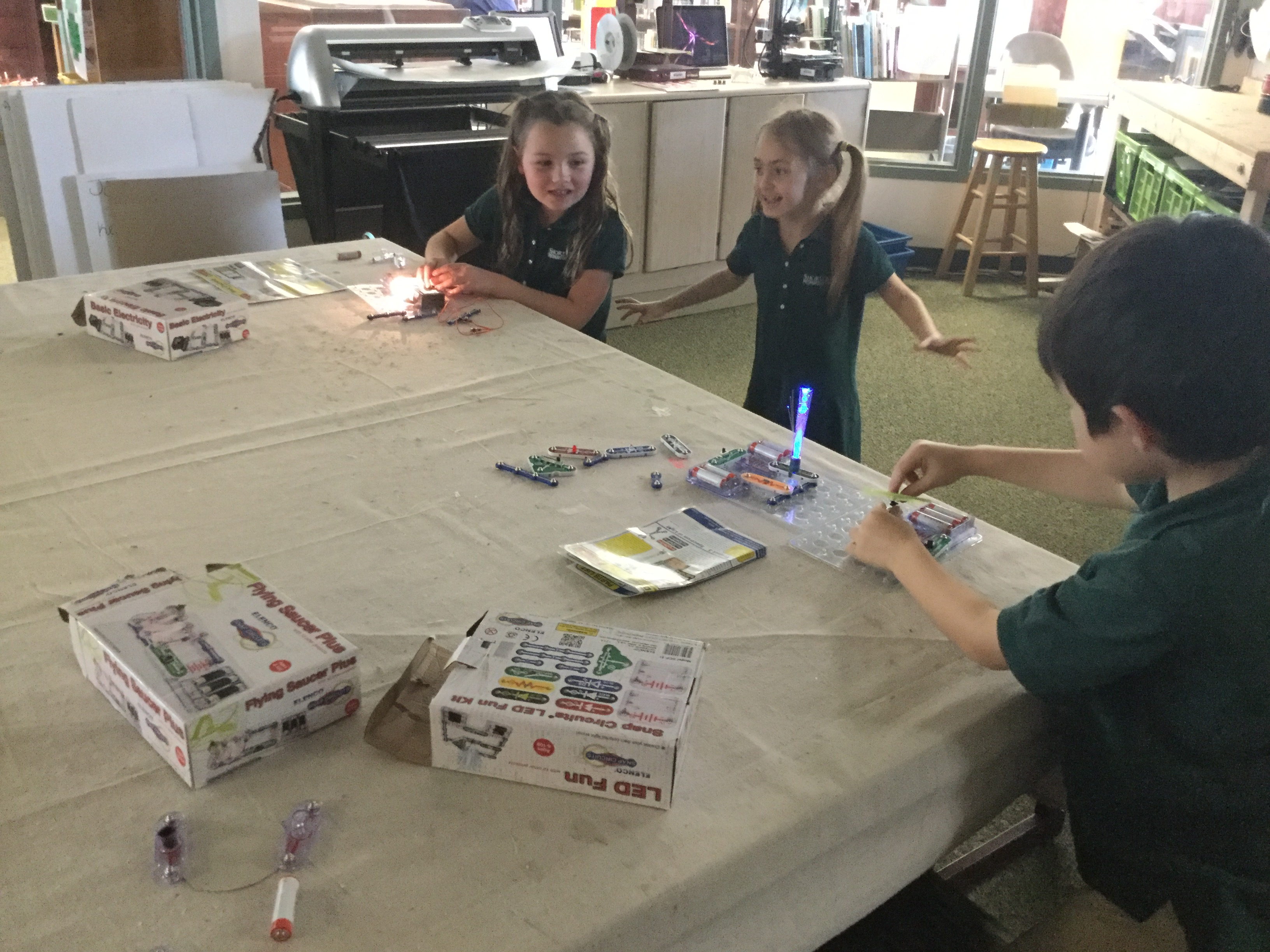 Kindergarten Students Enjoy Circuits Independent Ideas More Led Driver Hobby Category List Email